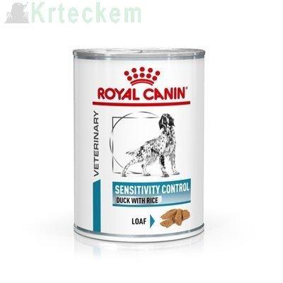ROYAL CANIN Sensitivity Control SC 21 Duck&Rice 12x420g konzerva