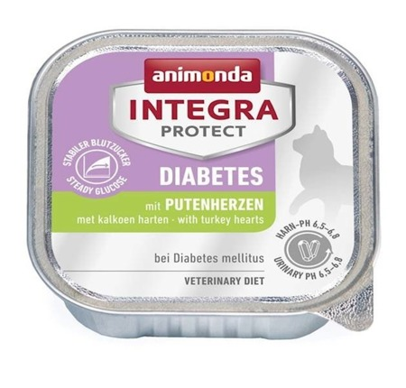 Animonda Integra Protect Adult Diabetes krůtí srdce 100g