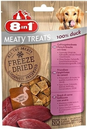 8in1 Dog Freeze Dried Duck 50g