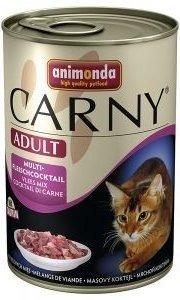 ANIMONDA Cat Carny Adult příchuť: koktejl z více mas 400g