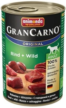 ANIMONDA GRANCARNO ADULT - HOVĚZÍ & ZVĚŘINA 400G