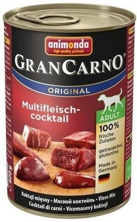 ANIMONDA GRANCARNO ADULT - MASOVÝ KOKTEJL 400G