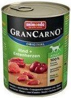 ANIMONDA GranCarno Dospělý pes chuť: Hovězí a kachní srdce 800g