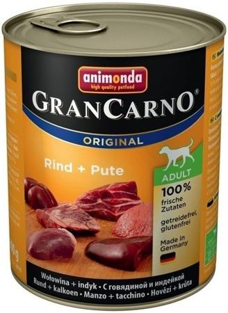 Animonda GranCarno dog konz. - hovězí, krůta 800 g