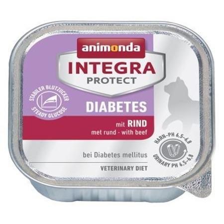 Animonda Integra Protect Diabetes pro dospělé s hovězím masem 100 g