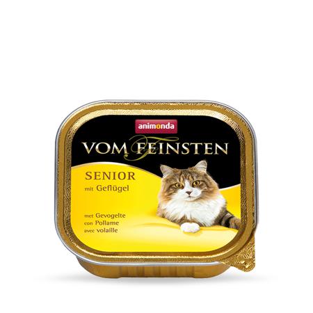 Animonda Vom Feinsten Senior Cat drůbeží 100g